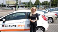 Gewinnübergabe in Bielefeld